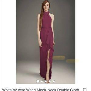Wine color bridesmaid dress - David's Bridal
